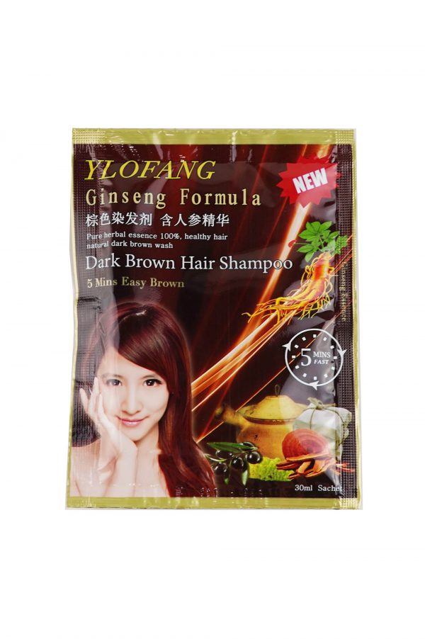 ylofang brown hair dye sackets